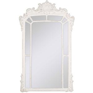 Classic Whitewash 52 x 32 In. Mirror