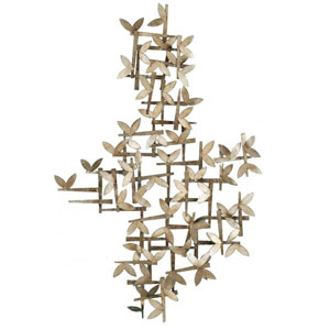 Gold Butterfly Dreams Wall Sculpture