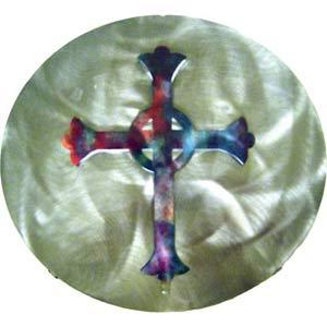 12-Inch 3D Celtic Cross Wall Art