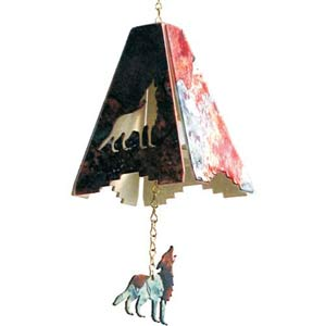 8-Inch Wolf Chime