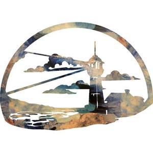 12-Inch Lighthouse Calling Wall Art