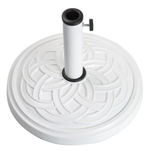 Gaelen White umbrella base