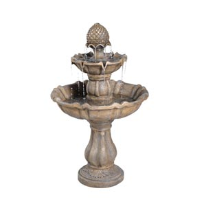 Patella 39-Inch Fiberglass Fountain