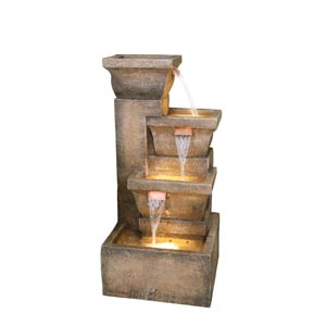 Ashboro 33-Inch Zen Fountain
