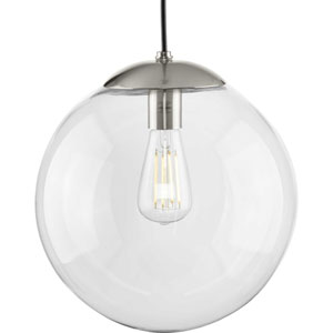 Atwell Brushed Nickel One-Light Pendant