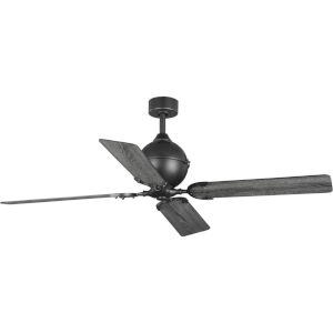 Royer Forged Black 56-Inch Ceiling Fan
