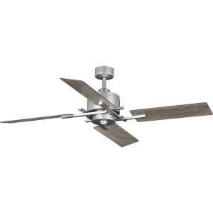 Bedwin Galvanized Finish 56-Inch Ceiling Fan