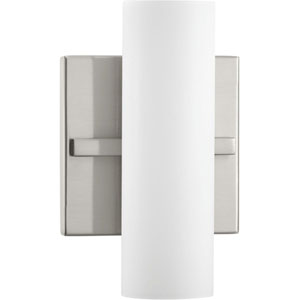 P300185-009-30: Colonnade LED Brushed Nickel ADA Bath Sconce