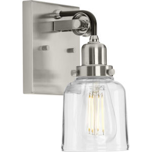P300226-009 Rushton Brushed Nickel Five-Inch One-Light Bath Vanity