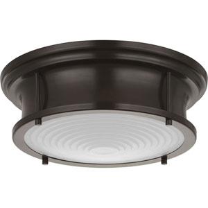P350113-108-30: Fresnel Lens Oil Rubbed Bronze LED Pendant
