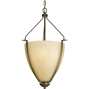 P3969-20: Bravo Antique Bronze Three-Light Pendant