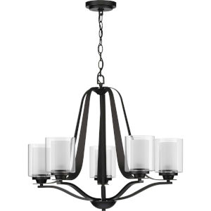 Kene Graphite 27-Inch Five-Light Chandelier