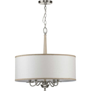 Durrell Brushed Nickel 21-Inch Four-Light Pendant
