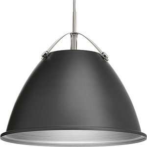 P500052-143: Tre Graphite One-Light Pendant