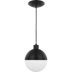 Globe Black Eight-Inch ADA LED Mini Pendant