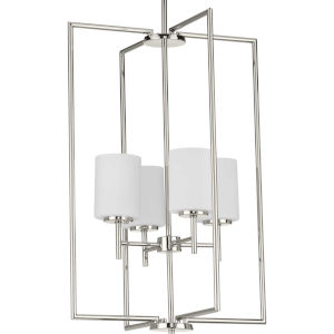 P500206-104 Replay Polished Nickel 18-Inch Four-Light Pendant