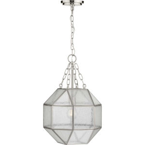 Mauldin Brushed Nickel 12-Inch One-Light Pendant