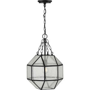 Mauldin Black 12-Inch One-Light Pendant