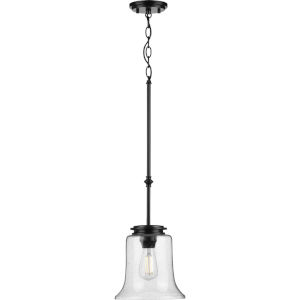 Winslett Black Nine-Inch One-Light Mini Pendant