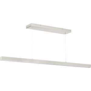 Planck Brushed Nickel 47-Inch ADA LED Pendant