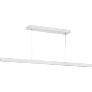 Planck Satin White 47-Inch ADA LED Pendant