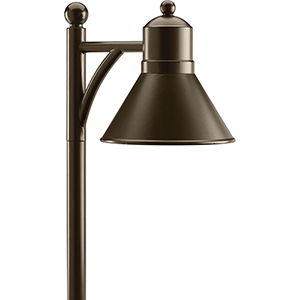 P5245-20: Antique Bronze One-Light LED Landscape Path Light