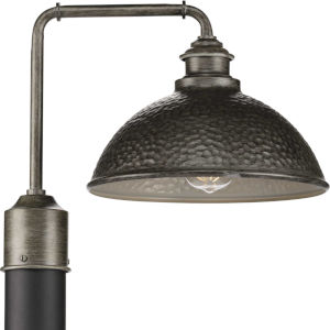 P540032-103 Englewood Antique Pewter 12-Inch One-Light Outdoor Post Lantern