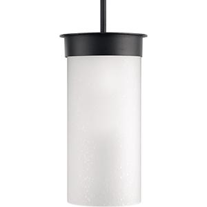 P5523-31: Hawthorne Black One-Light Outdoor Hanging Lantern