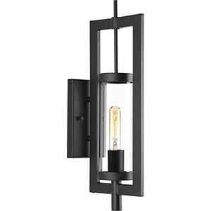 P560035-031: McBee Black One-Light Outdoor Wall Mount
