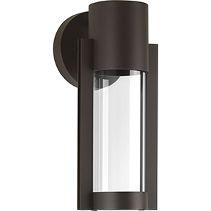 P560051-020-30: Z-1030 Antique Bronze One-Light LED Energy Star Outdoor Wall Mount