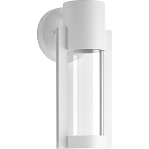 P560051-030-30: Z-1030 White One-Light LED Energy Star Outdoor Wall Mount