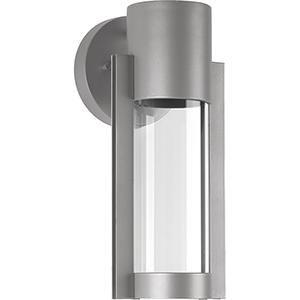 P560051-082-30: Z-1030 Metallic Gray One-Light LED Energy Star Outdoor Wall Mount