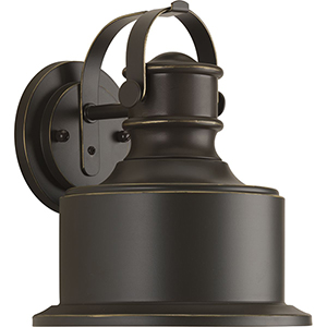 P560052-020-30: Callahan Antique Bronze One-Light LED Energy Star Outdoor Wall Mount