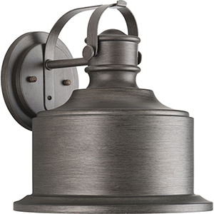 P560053-103-30: Callahan Antique Pewter One-Light LED Energy Star Outdoor Wall Mount