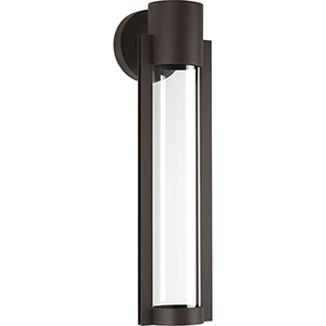 P560056-020-30: Z-1030 Antique Bronze One-Light LED Energy Star Outdoor Wall Mount