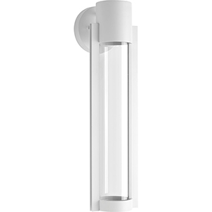 P560056-030-30: Z-1030 White One-Light LED Energy Star Outdoor Wall Mount