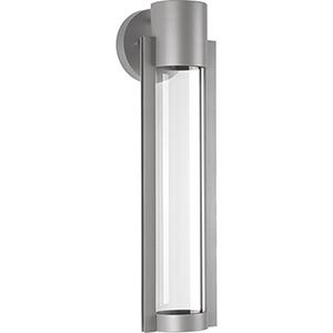P560056-082-30: Z-1030 Metallic Gray One-Light LED Energy Star Outdoor Wall Mount