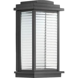 P560108-031-30: Northampton LED Black Outdoor Wall Lantern