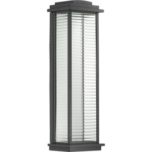 P560109-031-30: Northampton LED Black Outdoor Wall Lantern