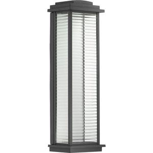 P560109-031-30: Northampton LED Black Outdoor Wall Lantern