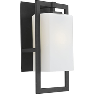 P5949-31: Jack Black One-Light Outdoor Wall Mount