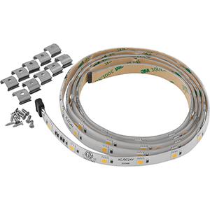 P7041-30: Hide-a-Lite 4 White 60-Light LED Undercabinet Tape Lighting