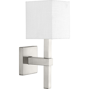 P710016-009: Metro Brushed Nickel One-Light Wall Sconce