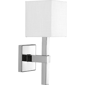P710016-015: Metro Polished Chrome One-Light Wall Sconce