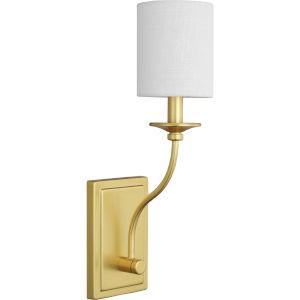 Bonita Satin Brass Five-Inch One-Light ADA Wall Sconce