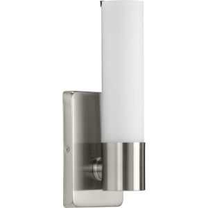 Blanco Brushed Nickel Five-Inch ADA LED Wall Sconce