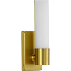 Blanco Satin Brass ADA LED Wall Sconce