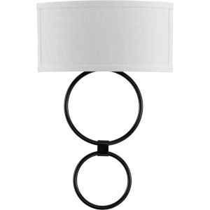 White and Black 14-Inch ADA LED Wall Sconce
