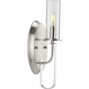 Riley Brushed Nickel Five-Inch One-Light ADA Wall Sconce