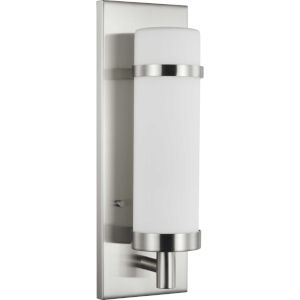 Hartwick Brushed Nickel One-Light ADA Wall Sconce